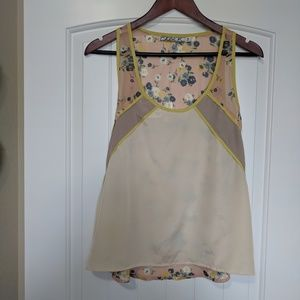 Chloe K sleeveless shirt. Size M